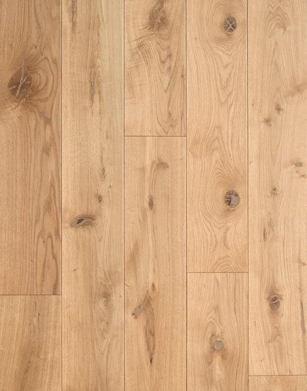 Rustic selekcja dębowej podłogi