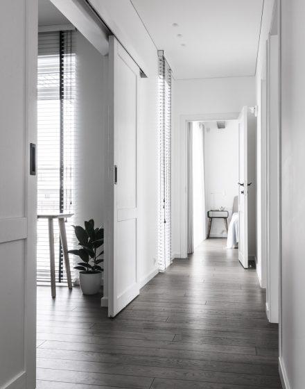 3477 graphite medzio stilius medinės grindys D2F dažytos medinės durys