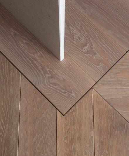 Drewniana dębowa podłoga: Kava C-3418.