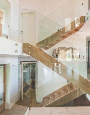 3305 bespalvė alyva mediniai ąžuoliniai laiptai Medžio stilius