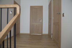 Drzwi D2F, kolor Przezroczysta biel 3409