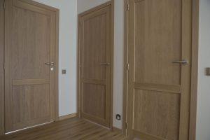 Drzwi D2F i podłoga, kolor Przezroczysta biel 3409