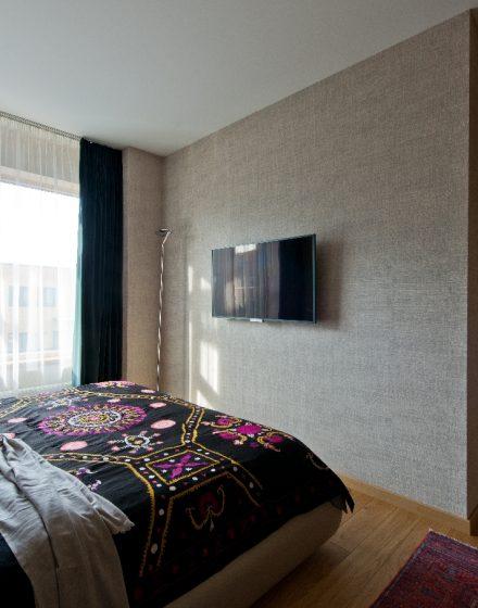 Medinės grindys deko siena skaidriai balta Q-3409 Medžio stilius