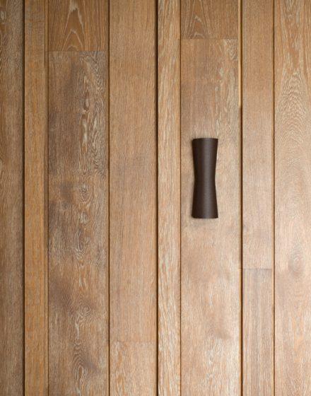 Drewniana dębowa DEKO ścianka.
