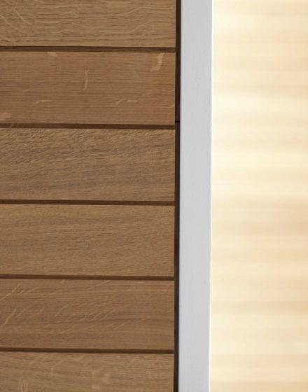 Drewniany dębowy deko sufit: Bezbarwny olej 3305.