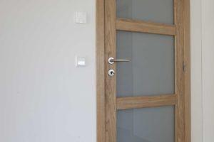 Drzwi dębowe, model D3S