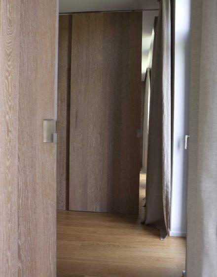 Drzwi płaskie dębowe