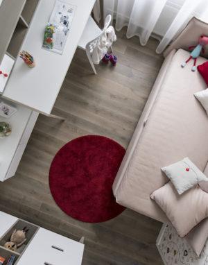 Medinės grindys Skaidriai balta 3409 Medžio stilius
