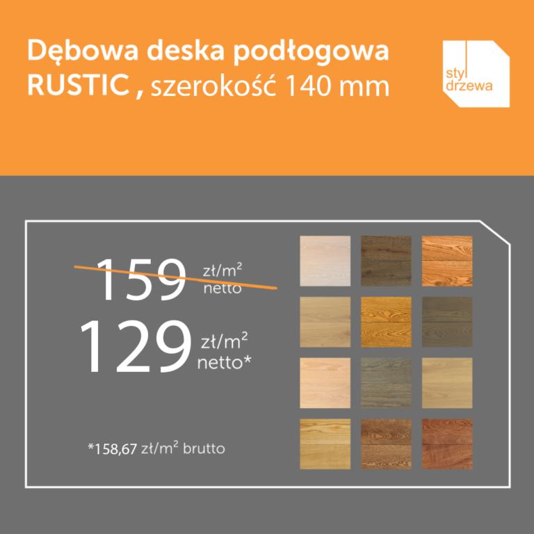 Rustic-dębowa